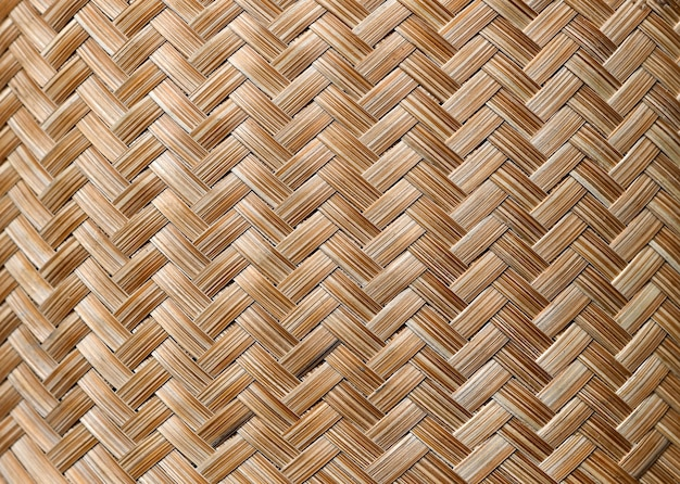 竹織りの背景