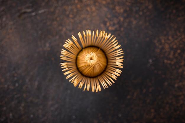 抹茶用の竹泡立て器