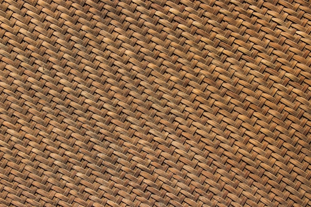 竹の籐は、古い食感と背景を乾燥食品を保管するための素材として使用しています。