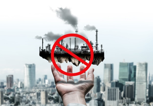 Ban of air pollution from conventional power.