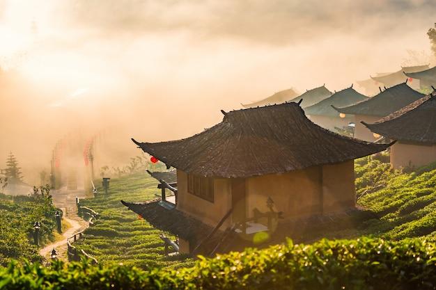 Ban rak thai village,  mae hong son province