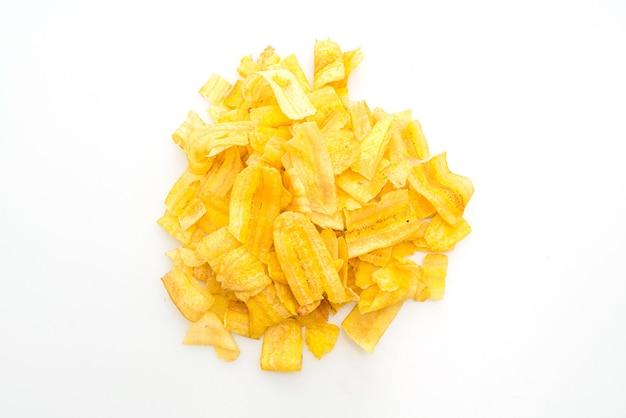 分離されたバナナチップ