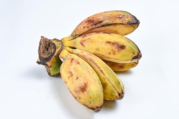 Банан свежий банан фрукты pisang kepoksaba bananacardaba balinipah банан изолированные