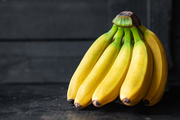 Банан фрукты еда свежие закуски копия пространство еда фон деревенский вид сверху