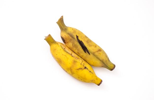 Банан, изолированные на белом фоне