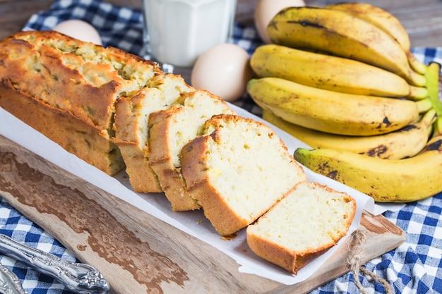 Torta di banana di libbra