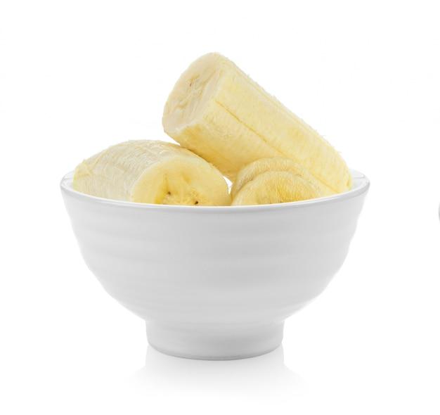 Банановый ломтик в миске