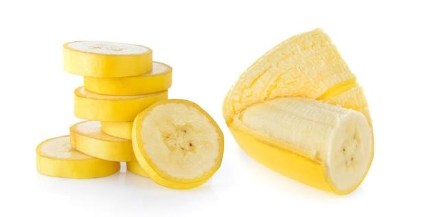 Ломтик банана изолирован