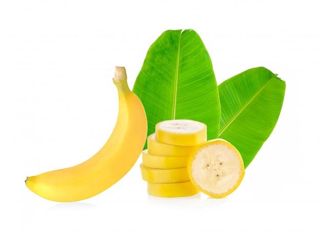 Ломтик банана изолированы