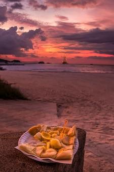 Банановые вкусные блины