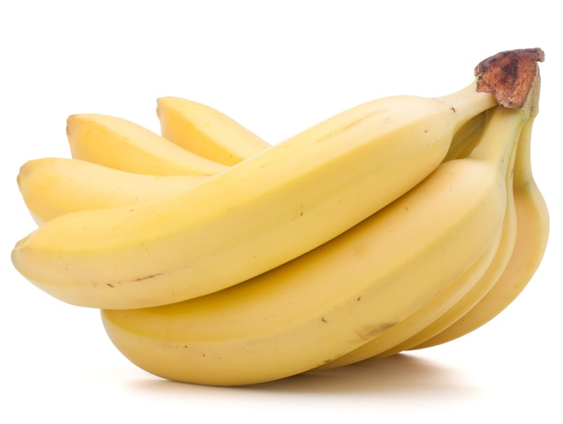 Bananas bunch isolated cutout