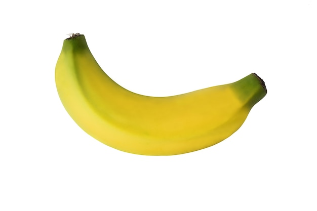 白い背景に分離されたバナナ。
