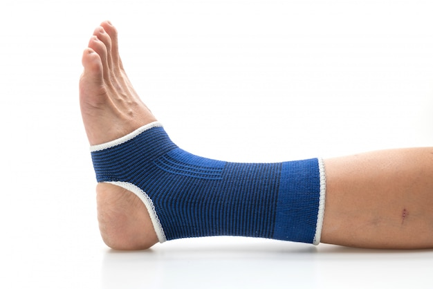 Bandage for support ankle pain