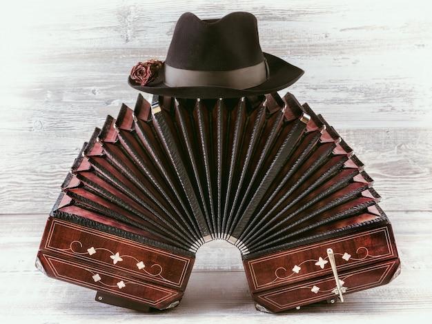 Bandoneon tango instrument