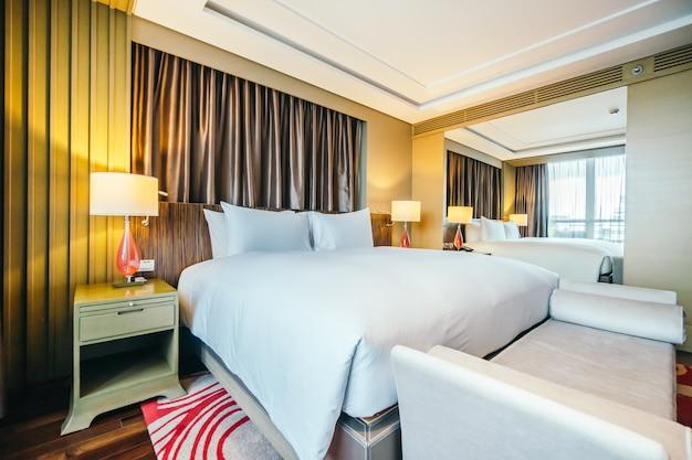 Бангкок, таиланд - 12 августа 2016: красивая роскошная спальня инт