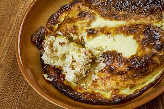 Баница - традиционная болгарская выпечка из лаваша и сыра