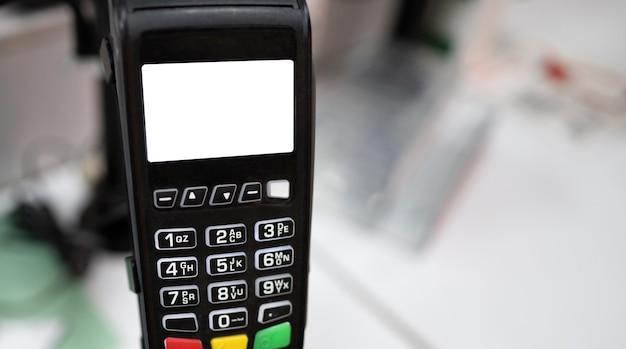 소매 금융 거래를위한 직불 신용 카드 전자 장치 용 은행 터미널 지불 기계 ...