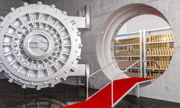Банковское хранилище 3d