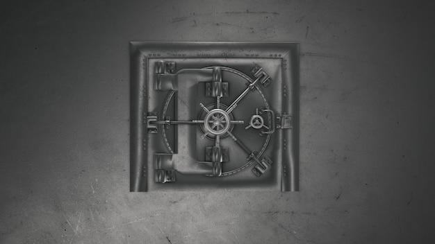 Банковское хранилище и открытие сейфа