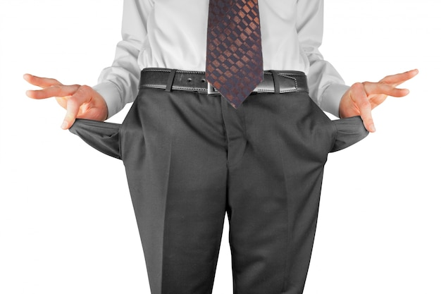 Банкрот с пустыми карманами