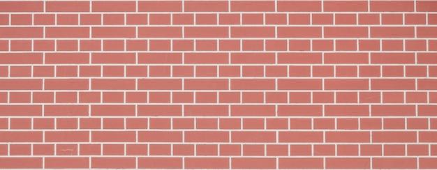 バナー。赤いグランジレンガの壁、ビンテージスタイルのパターンと抽象的な背景テクスチャ。