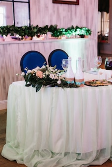 Banquet hall for weddings, banquet hall decoration, atmospheric decor