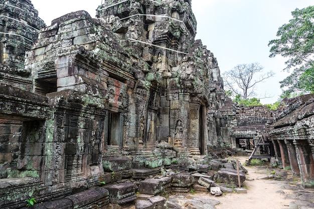 Banteay kdei temple in angkor wat in siem reap, cambodia