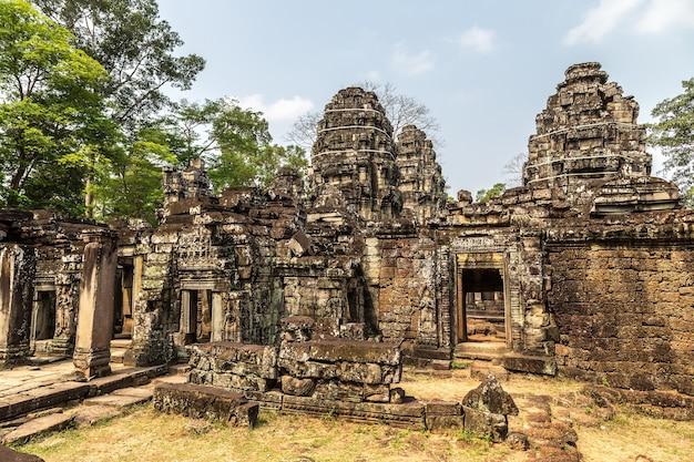 시엠립, 캄보디아의 앙코르 와트에있는 반 테이 크 데이 사원