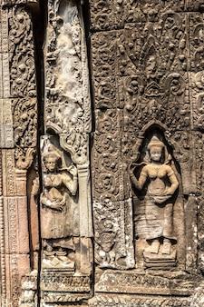 캄보디아 씨엠립 앙코르와트의 반테이크데이 사원