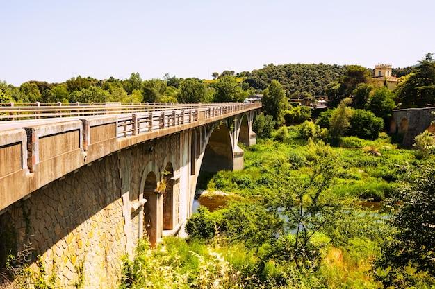 Автомобильный мост в banyoles