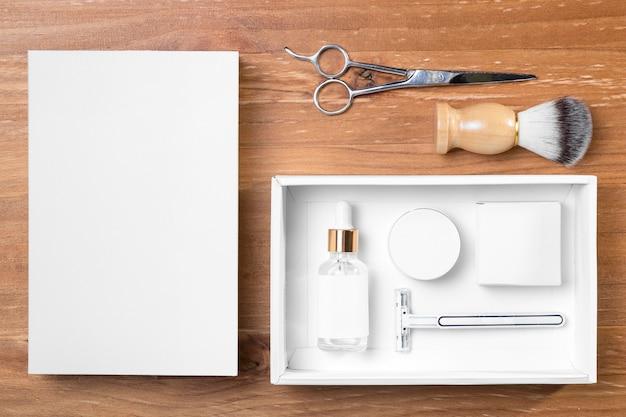 Инструменты и упаковка для ухода за парикмахерской