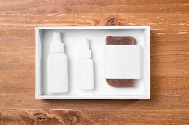 Инструменты для ухода за волосами в парикмахерской, спрей и мыло