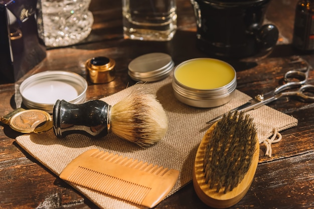 Barber shop shaving and trimmer accesories
