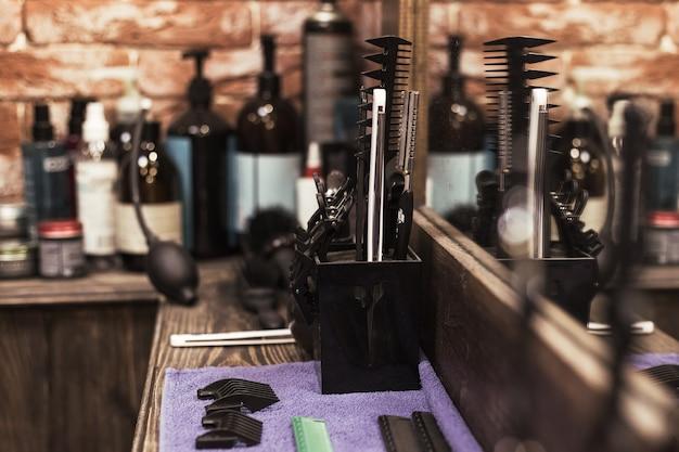 이발소 도구 및 장비