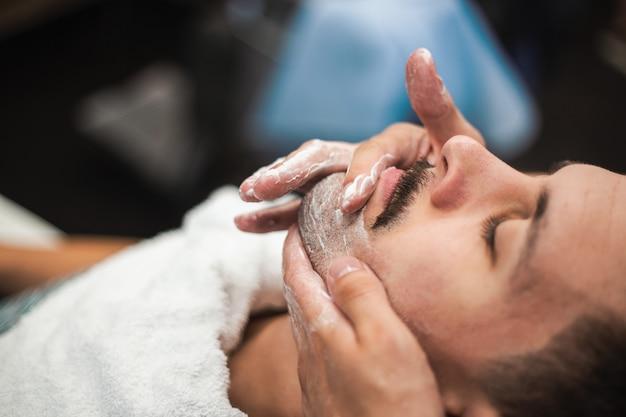 Barbershop hairdresser and hair salon