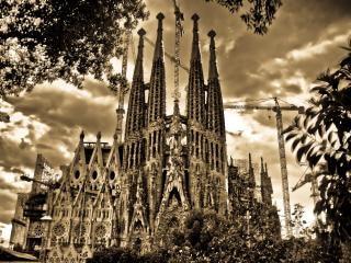 Barcelona, towers