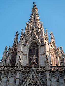 Барселона вид на собор барселоны.