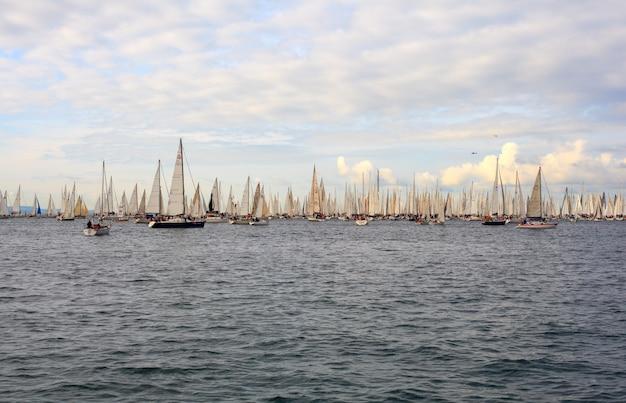 Barcolana regatta, trieste