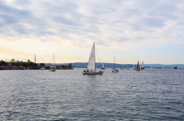 Barcolana regatta in trieste