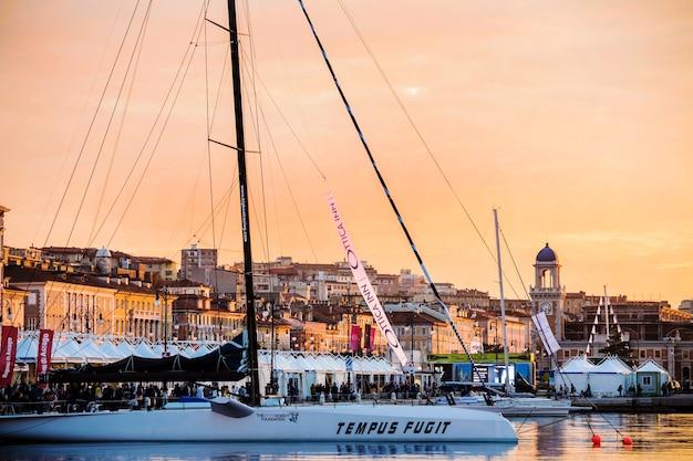 Barcolana regatta to trieste