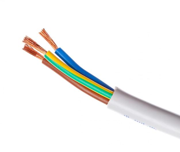 Bared copper wire