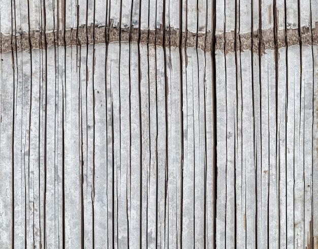 樹皮竹織りの質感