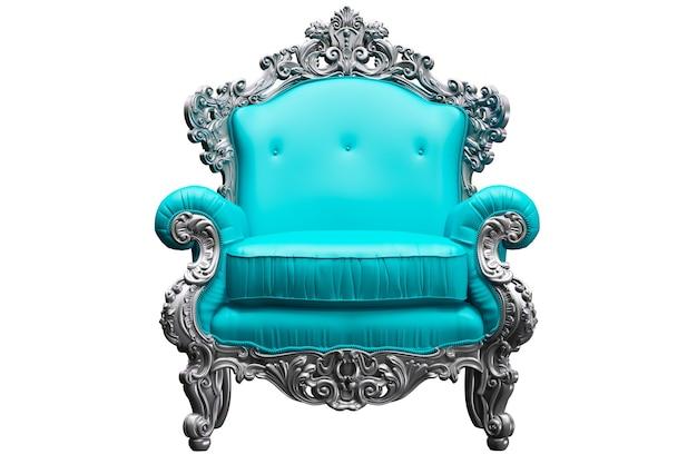 Tpink 작업자 파업과 바로크 안락 의자