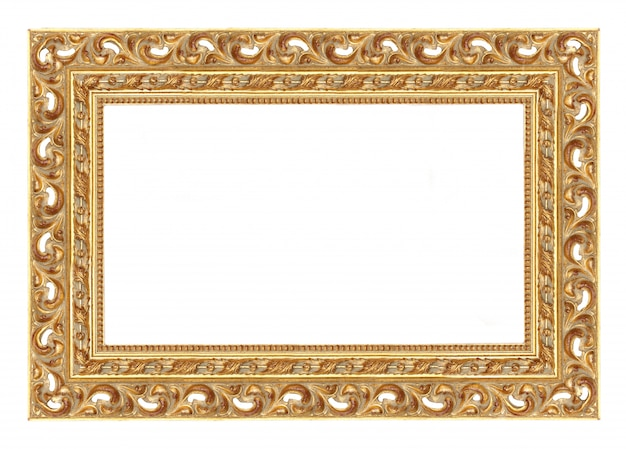 Baroque picture frame to put your own pictures in