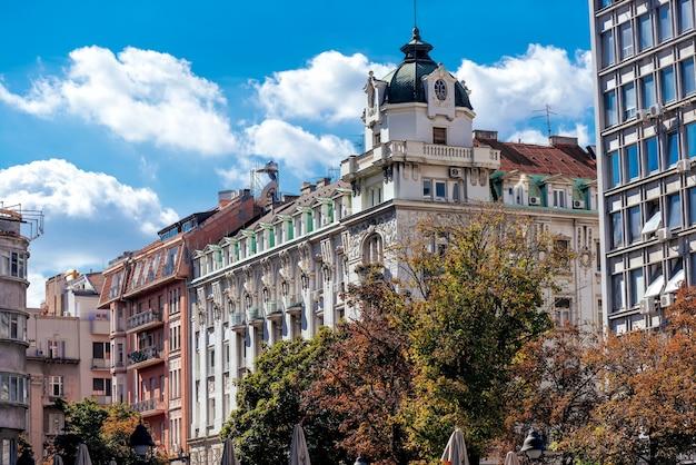 (knezamihailaまたはknezmihailova)通りにあるバロック様式の建物。ベオグラード、セルビア
