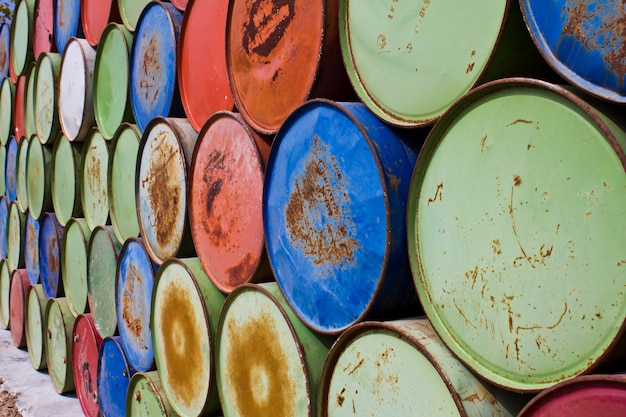 Barrels for storing oil