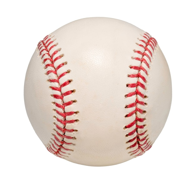 Baseball ball isolated on a white space.