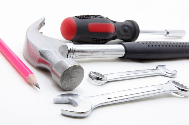 Basic construction tool set