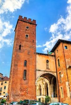 이탈리아의 유네스코 세계 유산 비 첸차의 팔라 디아나 성당