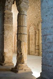 Basilica of san salvatore. spoleto, italy